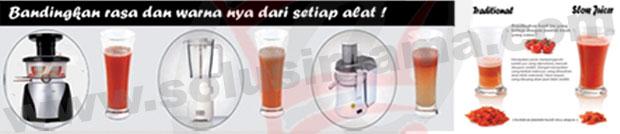 Beda Slow Juicer Dengan Juicer Biasa : Solusi Mama - Slow Juicer