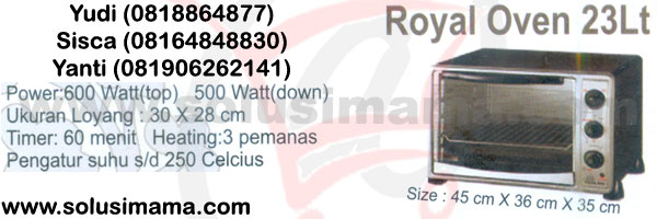 Royal Oven 23lt